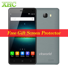 VKworld T5 SE 8GB LTE 4G VKworld T5 16GB WCDMA 3G 5'' Android 5.1 MTK6735 Quad Core 1.0GHz RAM 1GB / 2GB Mobile AP 2000mAh Phone