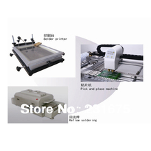 SMT  Line,reflow oven T-960,pick and place machine TM240A,stencil printer(Medium),Welding machine,0402,Cheap,PCB,Manufacturer