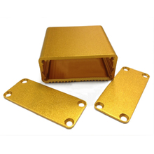 1pc Gold Aluminum Enclosure Case Mayitr DIY Electric Project Instrument Box 45x45x18.5mm(China)