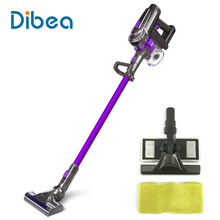 Dibea F6 2-in-1 Dibea F6 2-in-1 Handheld Cordless Stick Vacuum Cleaner with Mop for Carpet Hardwood Floor Cyclonic Filtration(China)