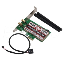 Bluetooth 4.0 Wireless 50M PCI-E PCI Express Card WIFI Network LAN Ethernet NIC #H029#(China)