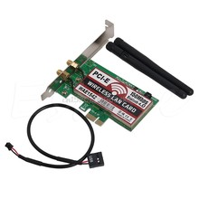 Bluetooth 4,0 Беспроводной 50 м PCI-E PCI Express Card WI-FI сети LAN Ethernet NIC # H029 #(China)