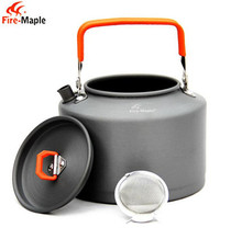 Good thermos Alumina 1.5L water kettle cooker camping kettles stove kettle whistling water gas teapot cooking tools