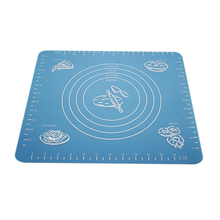 New arrival Silicone Roll Cut Mat Square Rolling Cutting Pad Fondant Cake Decorating Tool