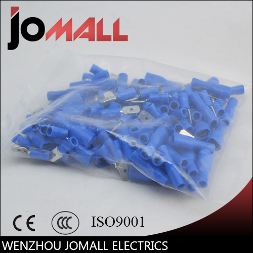 1000pcs Female with Male Spade Insulated Electrical Crimp Terminal Connectors H1E1 Cable Terminals<br>