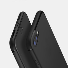 YiKELO Ultra Thin Matte TPU Silicon Full Body Cover Case for iPhone 8 7 6 6S Plus 5 5S 5SE X Case Scrub Phone Cases for iPhoneX(China)