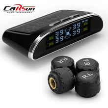 CARSUN COLOR DISPLAY TPMS Car detector Solar Energy Tire Pressure Monitoring System Auto Alarm System Diagnostic tool