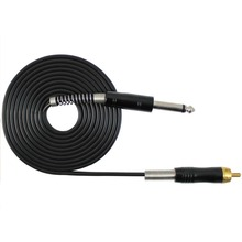 2.5M 1PC FLEXIBLE SILICONE RCA CLIP CORD FOR TATTOO POWER SUPPLY 01 AIR MAIL