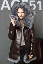 Faux Double faced Fur Faux fox Fur Collar Lady suit artificial Suede women coat fashion zipper High quality new style Flocking