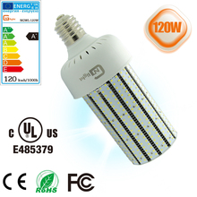 E27 E39 E40 400w halogen light replacement 120w led corn bulb light, LED corn bulb lamp canopy lights factory sale(China)