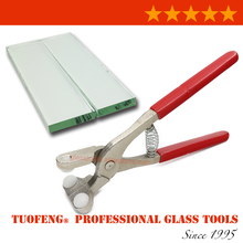 Glass Cut Running Pliers Glass Plier \ Glass Breaking When finish cutting Suitable for Glass Thickness 3~8mm(China)