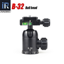 B32 tripod ball head for photography Panoramic photo Good quality ballhead 50mm quick release plate of Arca Swiss Specification(China)