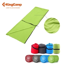 KingCamp Fleece Sleeping Bag Liner Envelope Ultralight Portable Adult Warm Cozy Microfiber for Camping Outdoor(China)