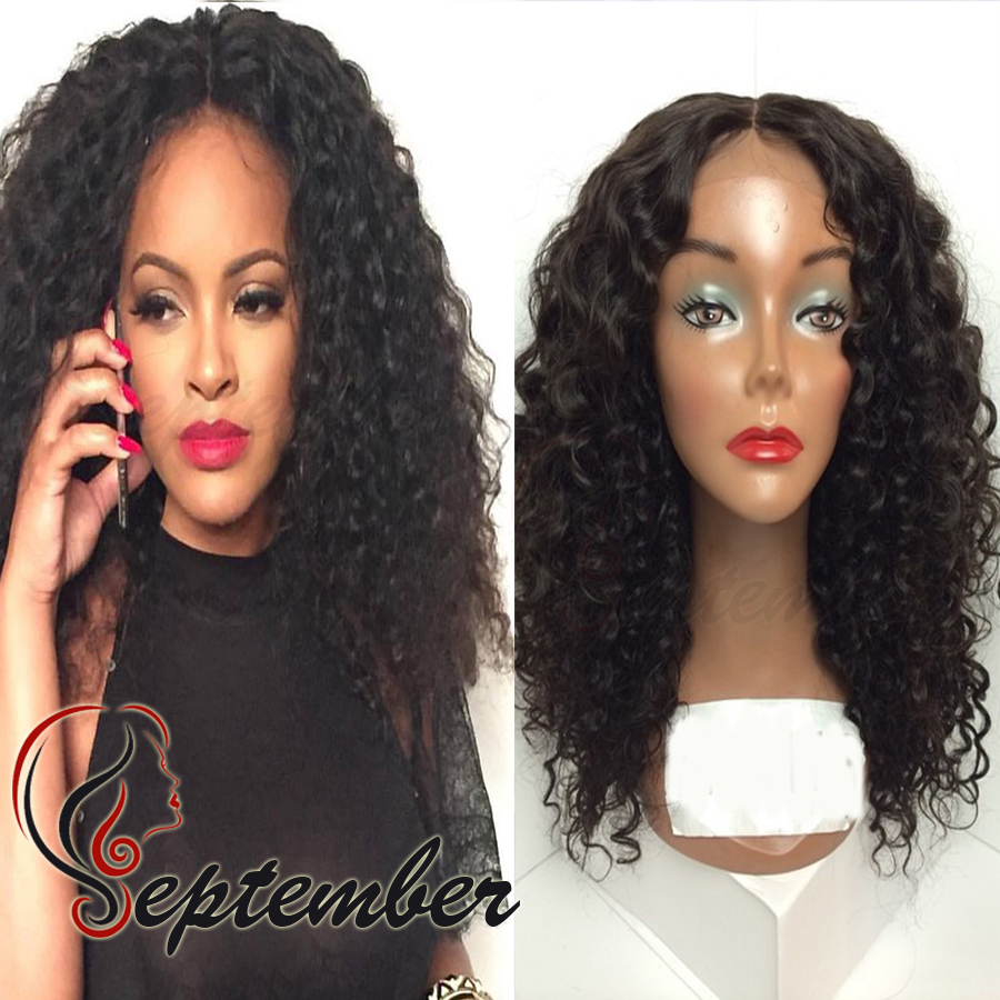 Hot Selling Loose Kinky Curly Synthetic Lace Front Wigs Side Part Glueless Heat Resistant Hair Wigs for Black Women instock  <br><br>Aliexpress