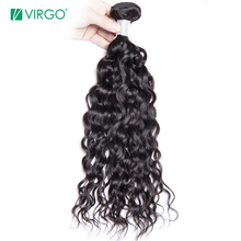 Human Hair Weave Bundles Malaysian Water Wave Hair Bundles 1Pc Virgo Hair Company Remy Hair Weave Can Be Dyed Won't Lose Pattern(China)
