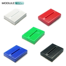 5PCS SYB-170 5 Colors Mini Solderless Breadboard Prototype Experiment Test Protoboard 170 Tie-Points For Arduino Shield