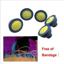 .200 Piece popular suction negative pressure electrode pads for medicine leading therapy with 2mm pin via dhl freeshipping(China)