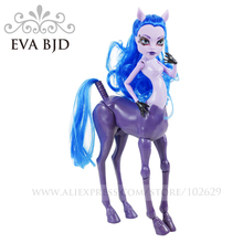 1/6 BJD Doll 26cm 16 jointed doll Horse high naked monster dolls for girls boys Toy New year Gift doll EVA BJD DB006-05(China)