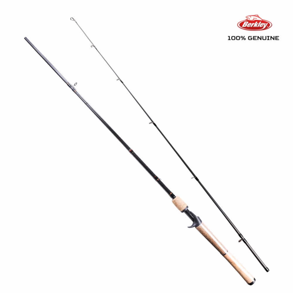Berkley Lightning Rod Casting Rod 1.98 2 Sections M Lure Fishing Rod Lure Weight  1/4-5/8oz Carbon Saltwater Rod Fishing Pole<br>