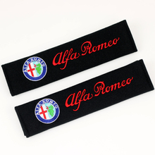 Excellent car-styling Seat belts all cotton case for alfa romeo 159 147 156 giulietta 147 159 mito