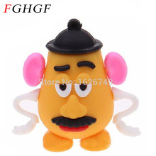 FGHGF cute Mr. Potato Head Pen Drive 4GB 8GB 16GB 32GB Usb Flash Drive Pendrive memory stick U disk Free Shipping(China)