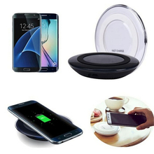 2017 Qi Wireless charger Original Phone Charging Pad For SAMSUNG GALAXY S6 S6 Edge S7 S7 Edge Note5 Note 7 all Qi devices