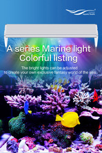110~240v Marine Coral SPS LPS grow color LED light Chihiros brief style remote controller sunshine mode