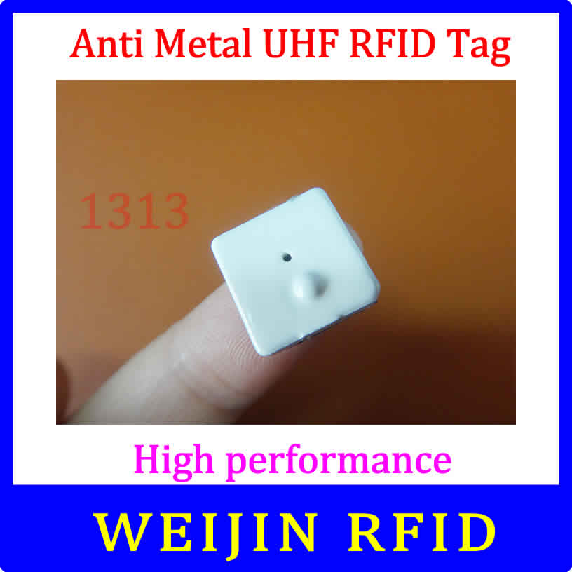 VIKITEK VT1313 UHF RFID anti metal ceramic tag 920-925MHZ EPC 13mm*13mm*3mm C1G2 ISO18000-6C Alien higgs3 chip<br><br>Aliexpress