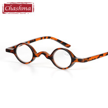 Chashma Small Round Read Glasses Retro Eyewear Women and Men Black Reading Glasses(China)