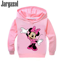 아이 Sweatshirt Girls Hoodies Kids Cartoon Mickey Minne Printed 가 Boys Hoodies 대 Girl 옷 Vetement 앙팡 Fille(China)
