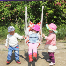 Enhance the baby jumping shake accessories hanging chair (including two rigging) indoor outdoor swing chair(China)