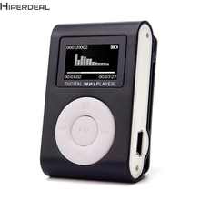 Hiperdeal New Mini USB Clip MP3 Player LCD Screen Support 32GB Micro SD TF Card Hot 17Dec13 Drop Ship(China)