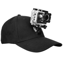 YIXAING Adjustable Canvas Sun Hat Cap for Gopro Hero 5 4 3 SJCAM SJ7 SJ6 M20 Eken H9 H9R H8 Pro Yi 4K Sport Action Camera
