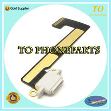 10 pcs / lot Free shipping USB Charging Dock Connector Charging Port Flex cable Ribbon For ipad mini 2 3 2nd 3rd Replacement