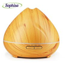 Sophisa 300ml aroma oil diffuser essential oil humidifier aromatherap mist maker fountain business gift mother gifts SP1641-Y(China)