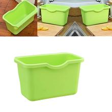 21X13.5X12.5cm Hanging Kitchen Cabinet Door Trash Rack Style Storage Garbage Boxs Accesorios De Cocina Kitchen Collect Tools(China)
