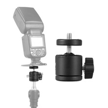 "Photo Studio mini ball head for camera/stand tripod ballhead with 1/4"" to 3/8"" adapter(China)"
