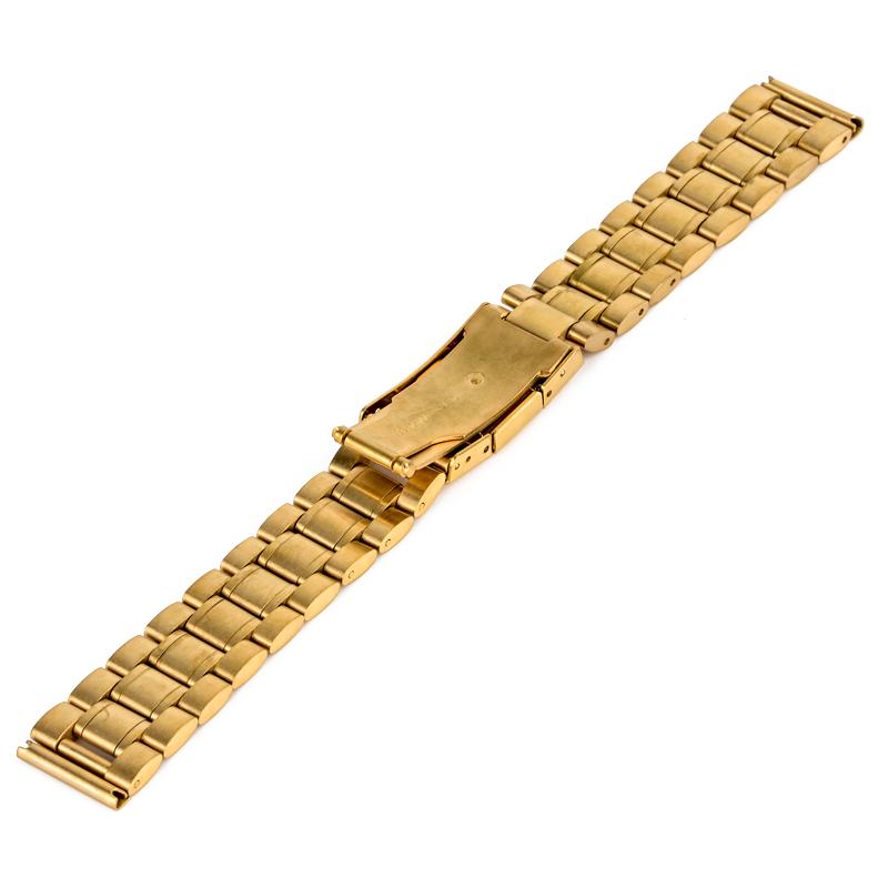 Watch Accessories Watch Band 18mm 20mm 22mm 24mm Stainless Steel Strap Steel Buckle Wrist WatchBand