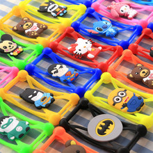 3D Cartoon Stitch Minnie Minions Silicone Case for Samsung Galaxy S6 Edge G9250 Cover Phone Case For Dexp Ixion X140