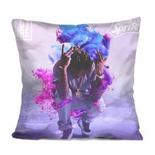 Future Dirty Sprite Throw Pillow Case Rap Future Dirty Sprite Cushion Cover Hip Hop DS2 Gifts Car Seat Room Decor Cases Two Side