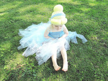 baby Photo Prop Halloween wig costume Cinderella Beanie Cinderella Wig Cinderella HatPrincess Beanie photo prop costume