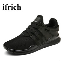 Ifrich Man Sport Shoes 2016 Brand Cool Shoes Men Luxury Comfortable Mens Trainers Brand Walking Sneaker Men Sport Trainers(China)