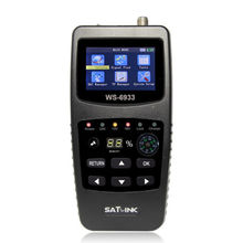 Satellite Compass digital tv satlink satellite finder meter easy to search the satellite signal ws 6933 FTA  factory price