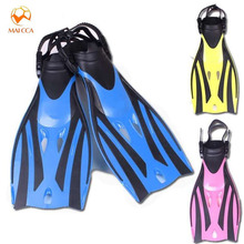 Professional Diving Flippers Children Adjustable scuba kids swimming shoes Submersible Snorkeling monofin child Diving Fins