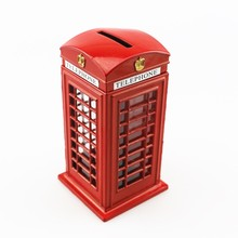 Limited Offer, High-Quality Red London Telephone Booth and Money Saver, Home Decor, Decoration, UK, British Souvenir, 44191