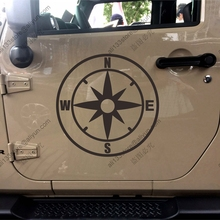 Compass Car Truck Vinyl Decal Bumper Sticker Window Die cut style 1 You choose size and color!(China)