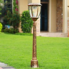 Practical and elegant lawn lamps outdoor lighting Quartet wheeled European style garden lawn landscape lamp park road lighting