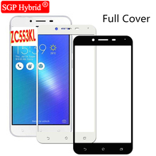 "9H Tempered Glass Full Cover phone Protector Films Case For Asus Zenfone 3 ZE552KL 5.5"" zenfone3 max zc553kl Protective Film ca(China)"