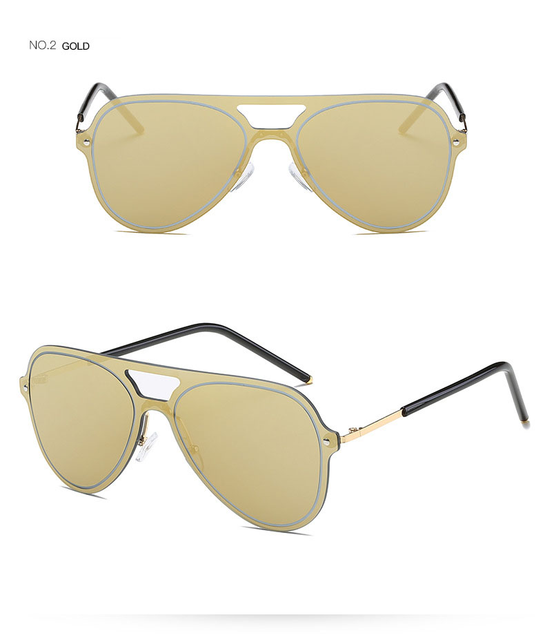 Unisex Metal color film sunglasses tide models sun glasses retro lady Eyewear Male men Aviator De Sol Oculos High Quality Pilot