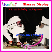 Eyeglass Sunglasses Eyewear Glasses Window Dressing Props Shelf Store Shop Decoration Display Stands Holder CK201 Free Shipping(China)